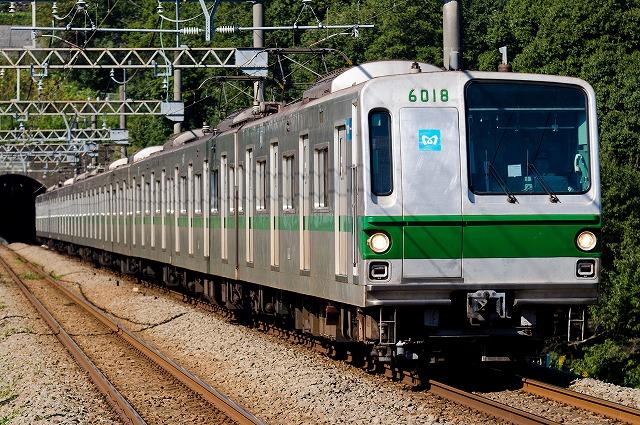 東京地下鉄-6000系|果て無き車両図鑑