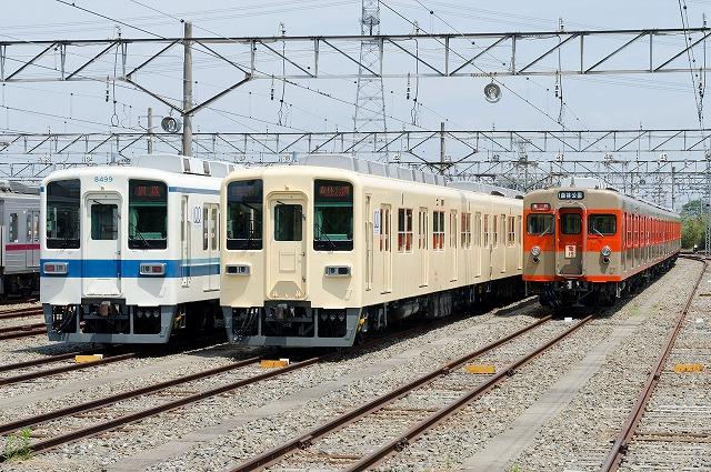 東武鉄道車両図鑑-8000系(8000・8500・800・850型) | Kasukabe総合 ...